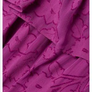 Rachel Zoe Dresses - Rachel Zoe Clea off shoulder burnout gown XS